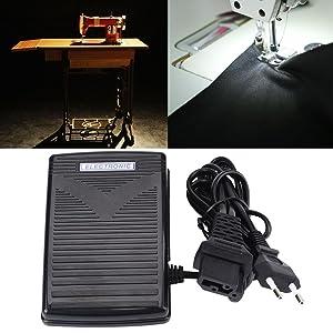 200-240V EU plug Pedal de Control del Pie, para Casero Máquina de ...