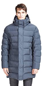 Winter Thick Mid-length Coat Puffer Jacket