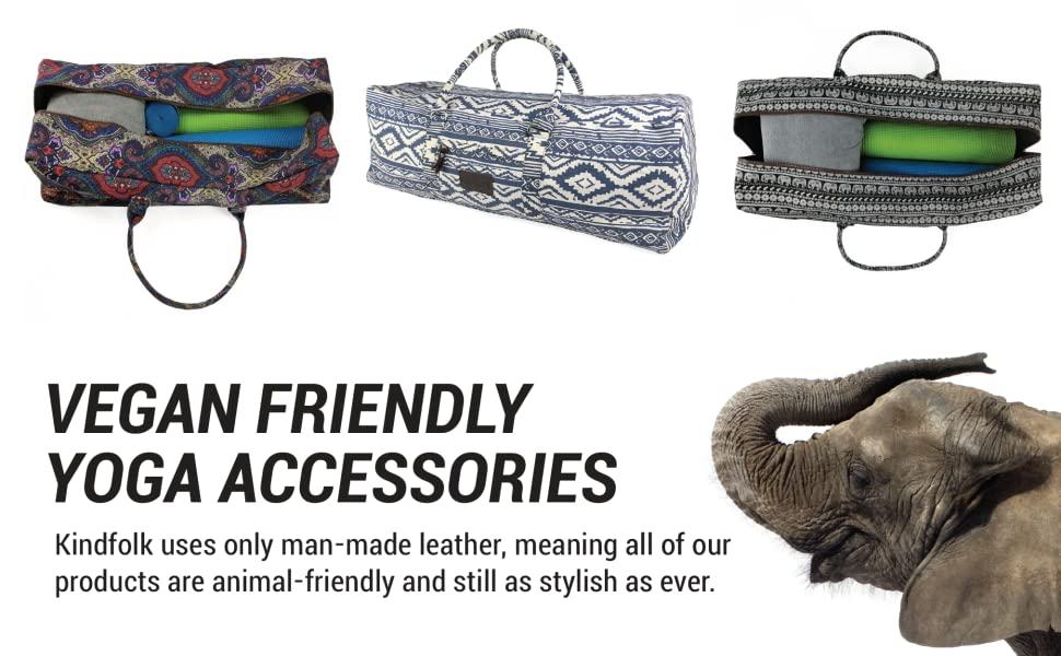 vegan friendly yoga accessories fit all your stuff