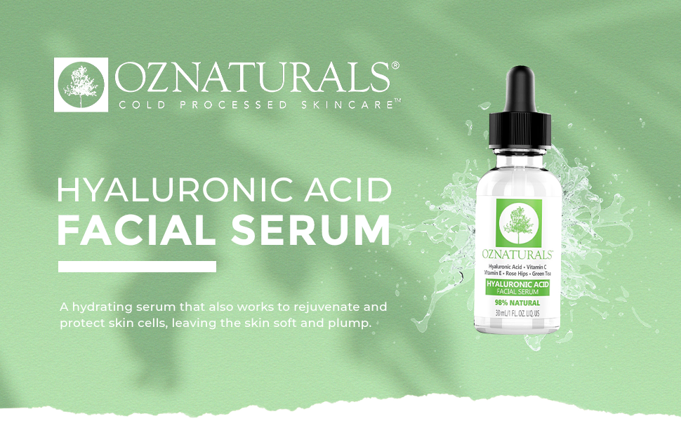 hyaluronic acid vitamin c facial serum