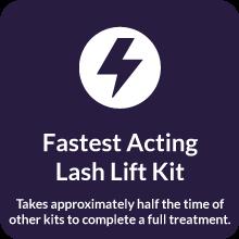 Beau Lashes Eyelash Luxury Lash Lift Kit Super Fast Acting