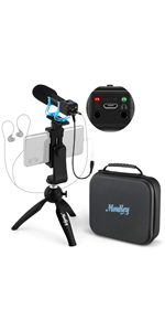 Moukey Smartphone Camera Video Microphone Kit