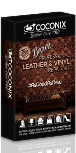 Brown Leather and Vinyl Repair Kit