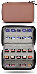 nintendo switch game card case holder cartridges storage