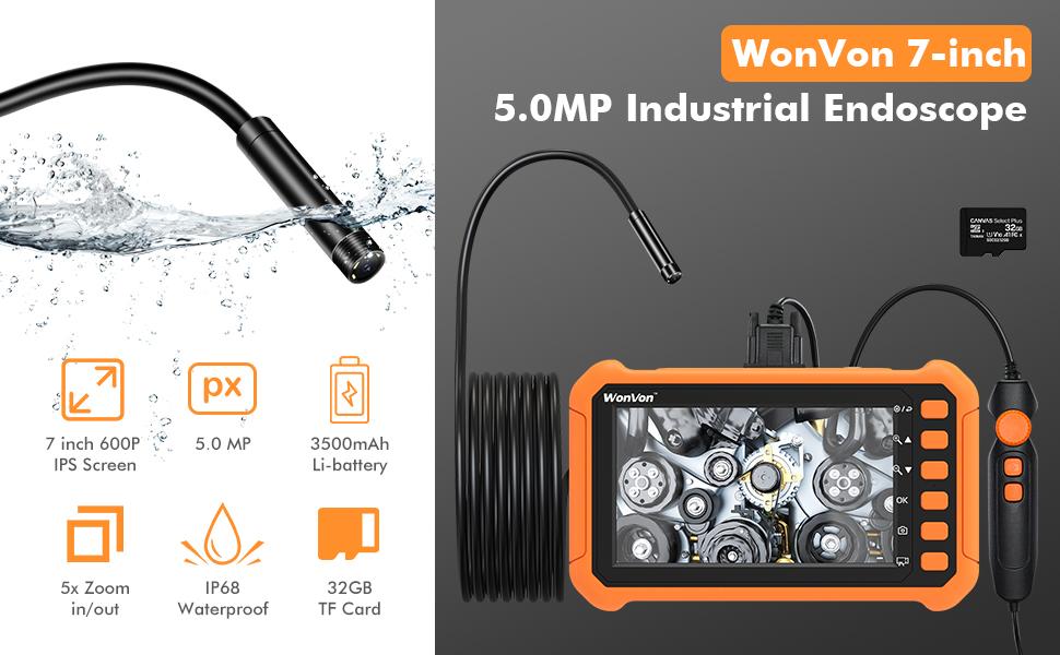 Industrial Endoscope camera