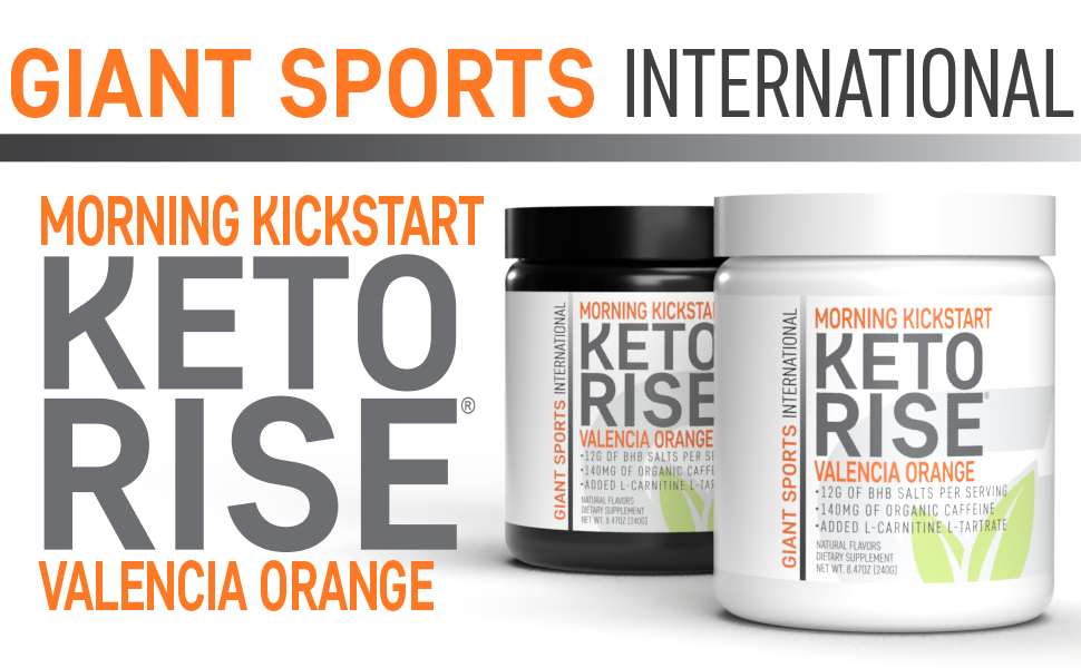 giant sports keto rise exogenous ketones organic caffeine
