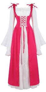 Renaissance Costume Women Medieval Dress