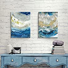 Abstract Heavy Textured Paintings for Walls