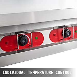 commercial steam table food warmer