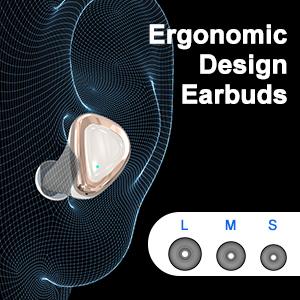 Wireless Earbuds, Bluetooth Headphones