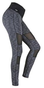 pants grey black mesh variosports formbelt fitnesshose laufhose lauftights leggings