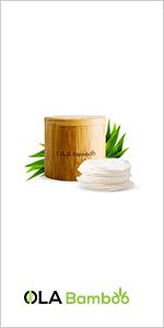 OLA Bamboo Make up remover