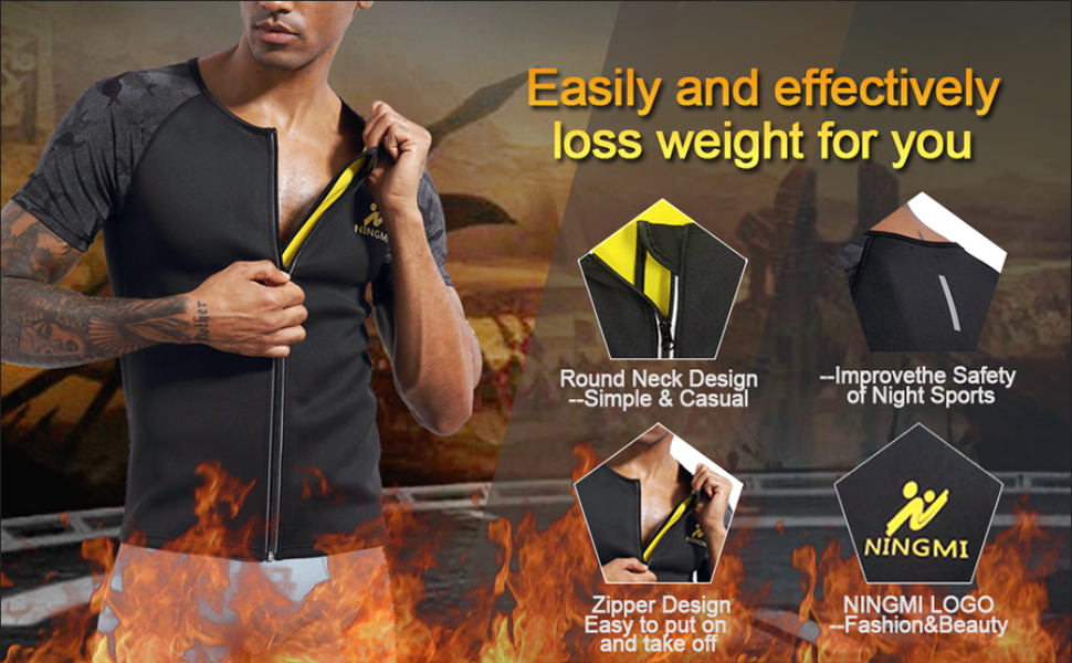 weight loss shirt for men