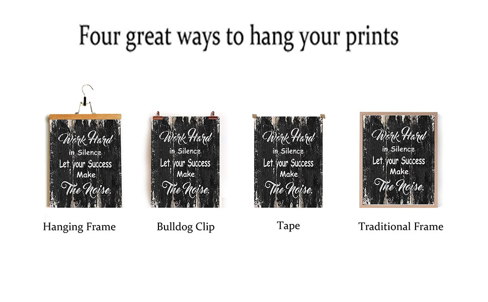 4 great ways to hang a picture