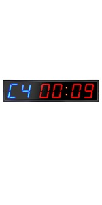 4inch timer workout garage stopwatch