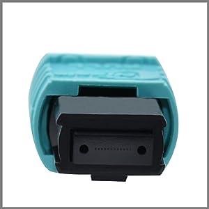 MPO Patchcord Cable Hembra//Hembra LSZH Cord/ón de Fibra /Óptica MPO Jumper para 40G QSFP y 100G QSFP28 Compatible MTP 16,5FT 8 Fibras OM3 Tipo B Patch Cord de Fibra /Óptica MPO SUWOLF 5M