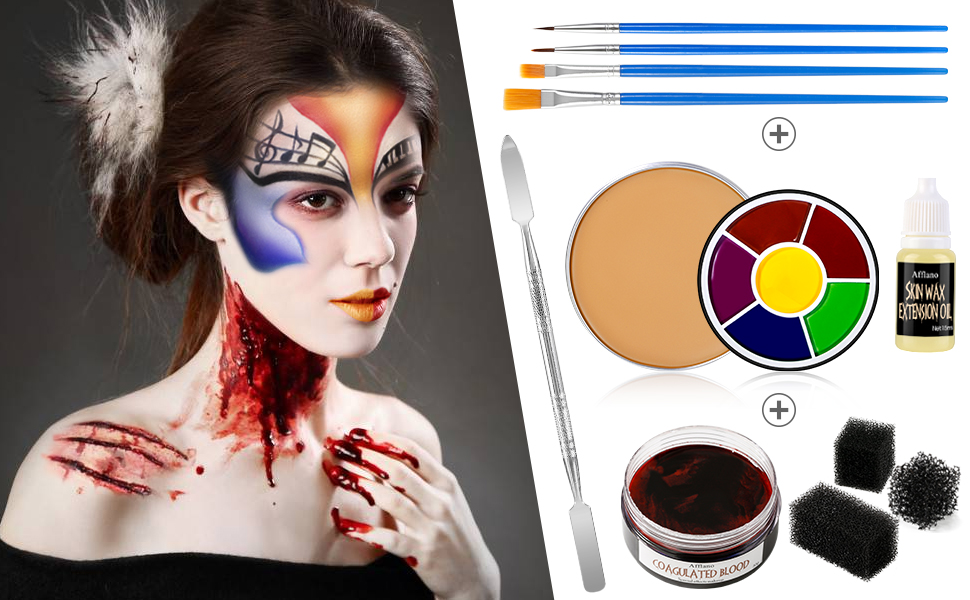 Suitable for Halloween party, Fancy Dress, Carnivals, Festival or TV program special effects