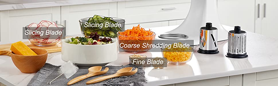slicer shredder attachment for kitchenaid stand mixer