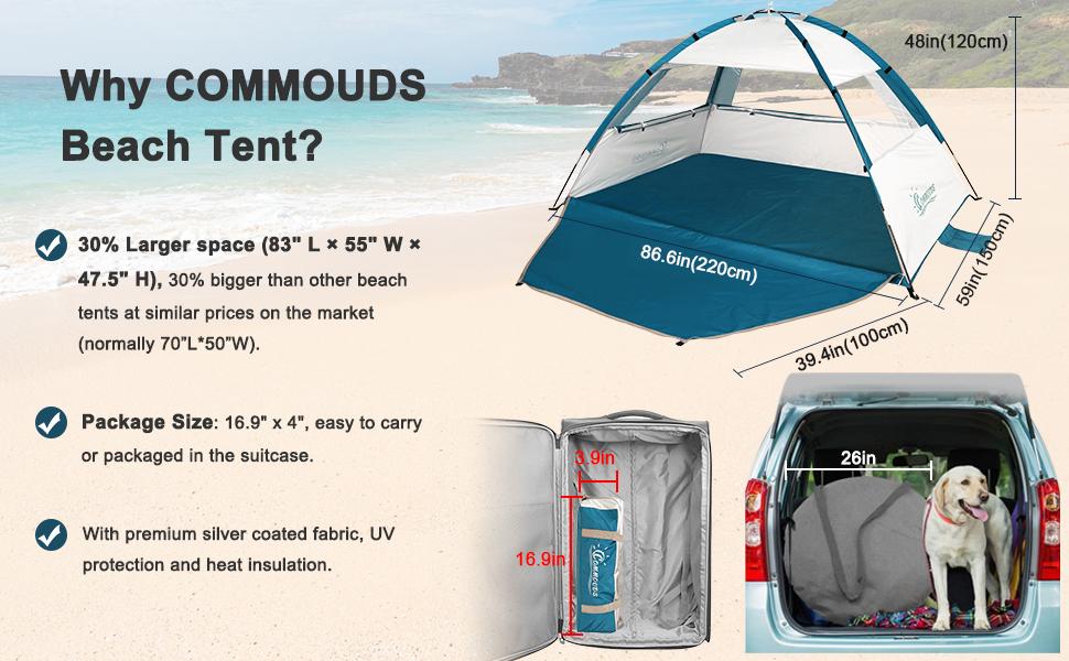 beach umbrella with sand anchor  beach shade tent sun shelter baseball tent beach tent umbrella tent