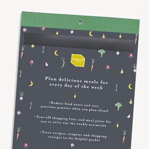 Weekly meal planner Magnetic notepad for fridge Food shop grocery online To do list pad