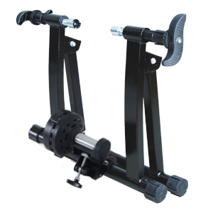 Folding Indoor Magnetic Bike Trainer Bicycle Stand Workout Exercise Steel