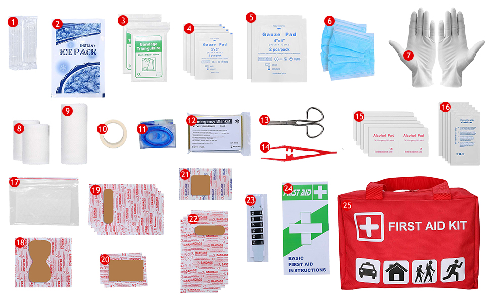 Procase First Aid Kit
