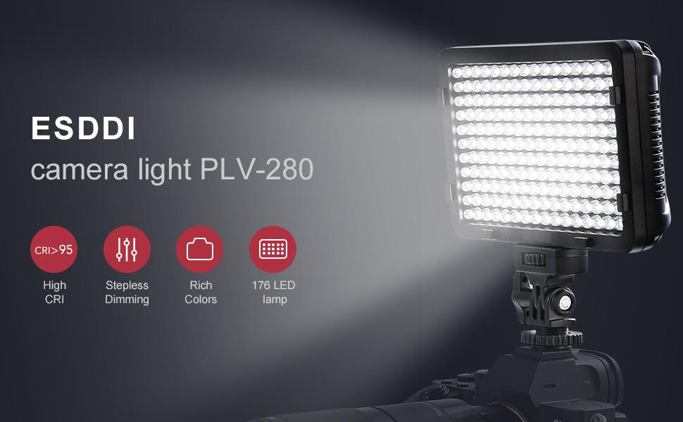ESDDI LED Videolicht