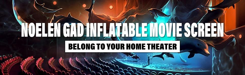 INFLATABLE MOVIE SCRREN