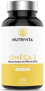 Oméga 3 huile de poisson Nutrivita