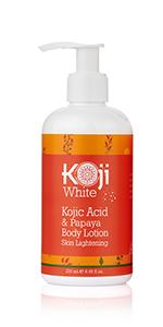 Kojic Acid amp; Papaya Body Lotion