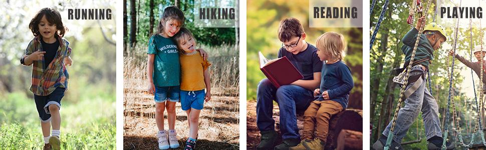 Mishansha Kids Hiking Boots