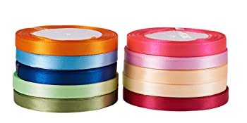 double sided polyester ribbon for hair bow hairpin gift wrapping