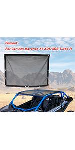 Maverick X3 Soft Top Mesh Roof