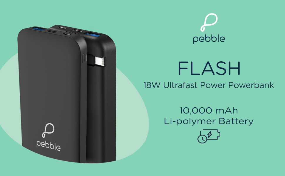 Power bank, 10000mAh, 18W, Fast charging, Ultra-fast charging