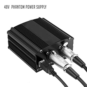 PHANTOM POWER WITH CABLE