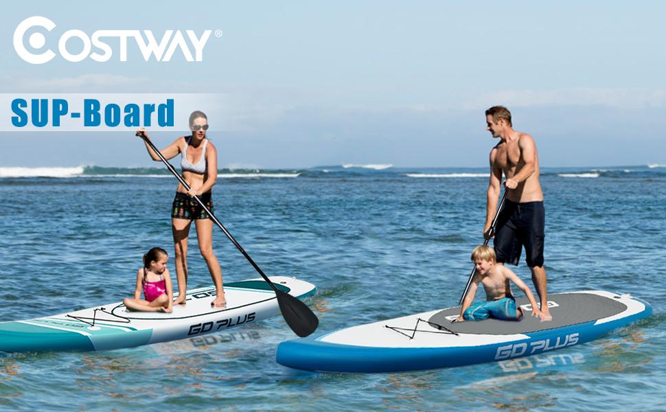 COSTWAY Tabla de Paddle Surf Hinchable 305 x 76 x 15 cm Sup Board ...