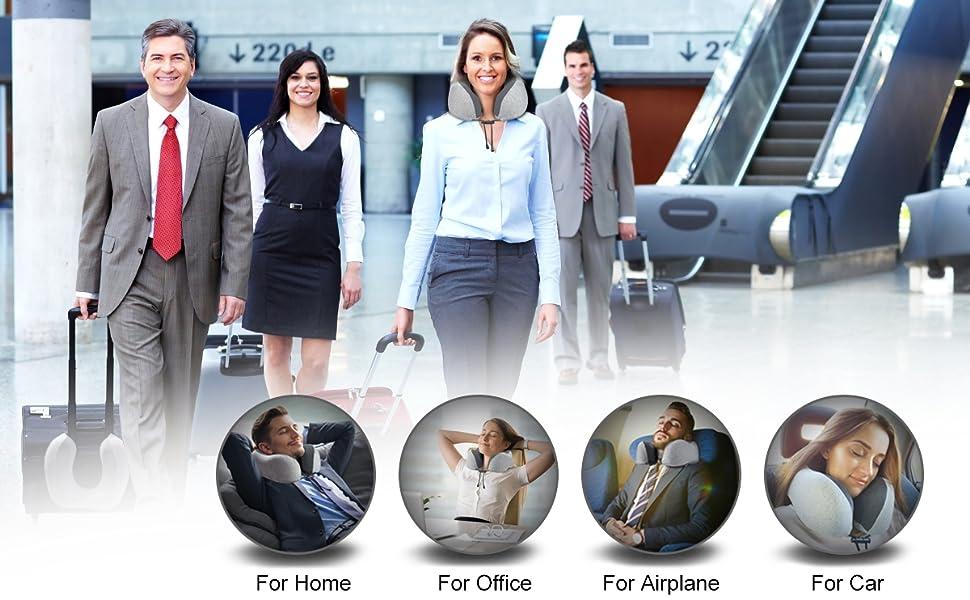 ergonomic design travel pillow