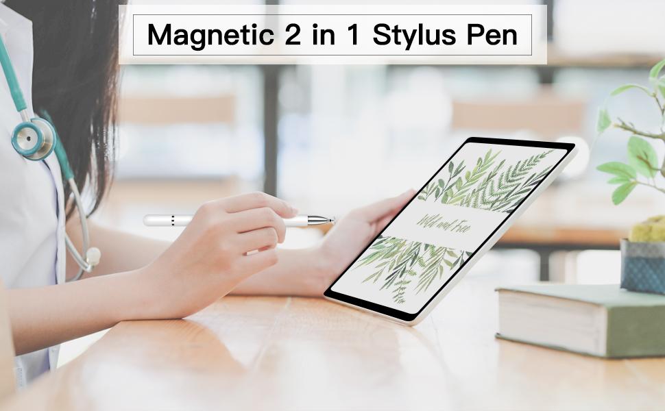 Magnetic 2 in 1 Stylus Pen