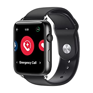 emergency alert smartwatch, smartwatch seniors, sos smartwatch, medical alert, medical alert watch