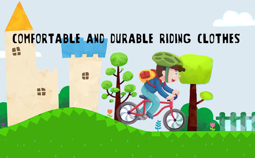 Boys' Girls' Cycling Jersey Set