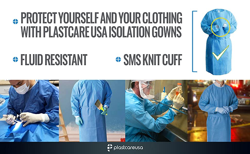 level 3 4 2 1 isolation disposbale yellow gown blue black green ppe doctor lab safety