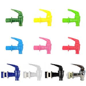 different colored faucet
