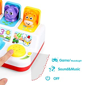pop up toys for 1 year old