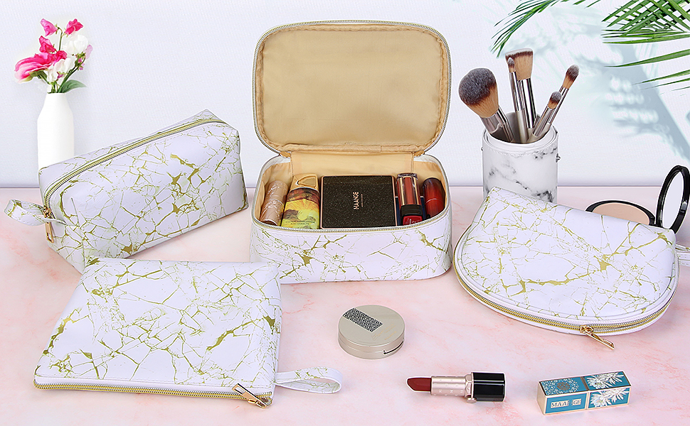 makeup bag, cosmetic bag, makeup traveling bag