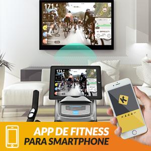 Bluefin Fitness Bicicleta Tour SP | Kinomap | Video Coaching y Entrenamiento | Bluetooth | App Smartphone/Negra y Plata Product ID: 716053151018: Amazon.es: Deportes y aire libre