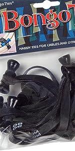 bongoties tie wraps cable tie elastic bands zip tie rubber bands bamboo bongo pin bungee natural