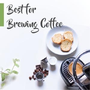 Nespresso coffee machine with coffee pods