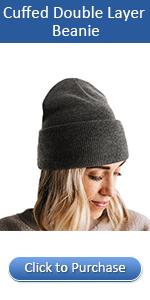Winter beanie for women