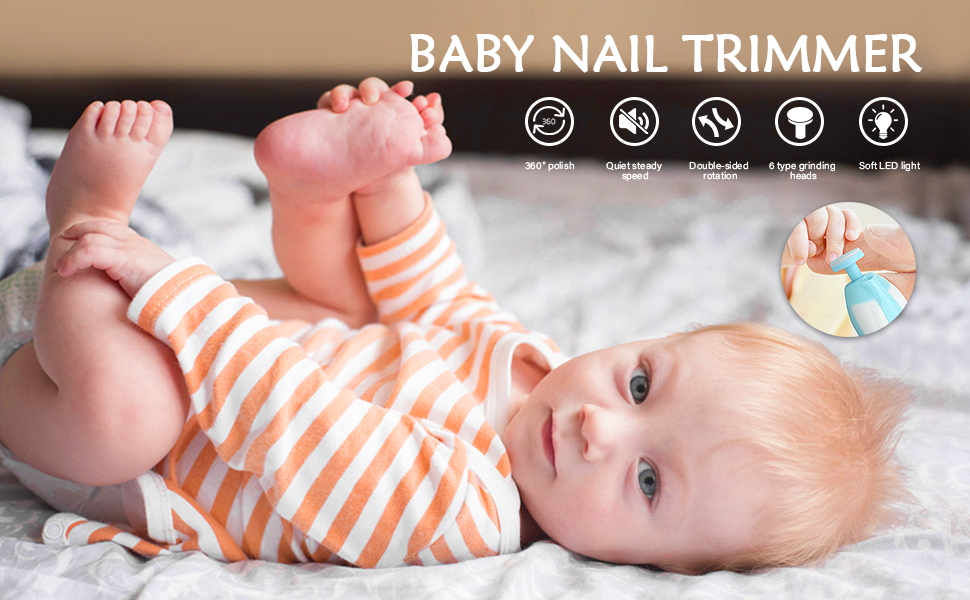 Electric Baby Nail Clipper
