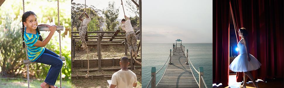 Manila Hemp Rope Uses Climbing Dock Railing Landscaping Rigging Ladder
